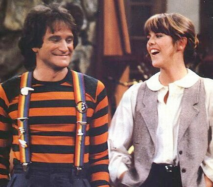 Image result for Mork and Mindy laughing